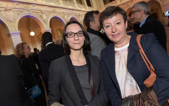 15. Alexandra Guillem et Brigitte de Ceglie (SMABTP)