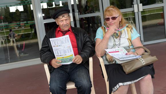 15. René Jacquelin et Huguette Arod