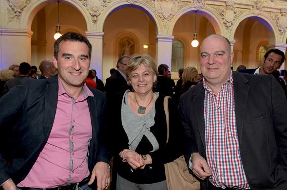 16. Philippe Ginet (Floriot), Frédérique Gama (Clinique Charcot) et Jean-Pierre Garioud (Floriot)