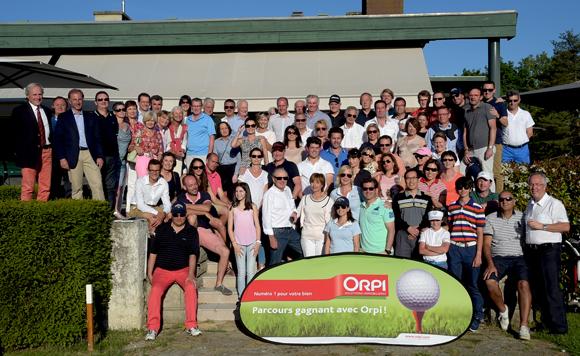 16. Les participants du trophée Orpi et les organisateurs