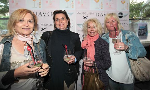 16. Annunziata Raso (Matmut), Isabelle Boivin (Lillet), Martine Leridon et Pascal Descombes