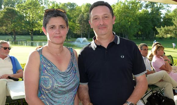 17. Gilles Pollet (Sciences Po) et son épouse Pascale