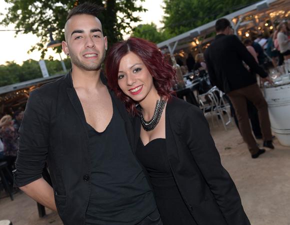 17. Maxime Gomes et Sarah Ferrao