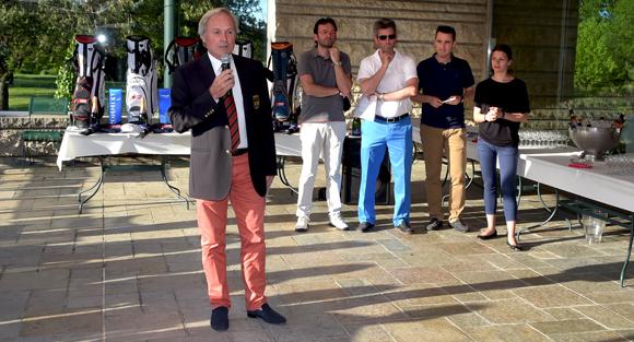 18. Gilles Lefebvre, président du Golf Club de Lyon