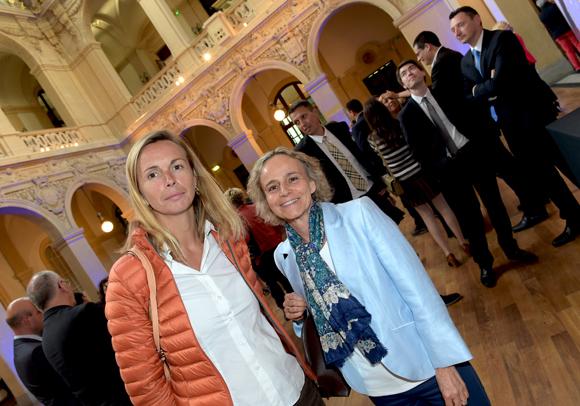 2. Laurence Derobert et Claire Demengeot (Crédit Agricole)