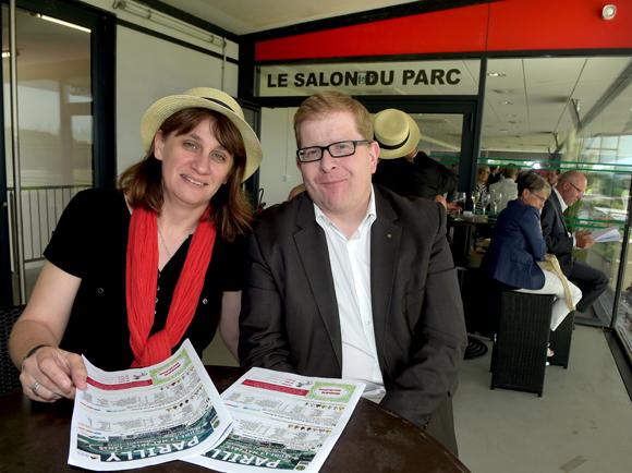 20. Emmanuel Hacot (Mairie de Divonne les Bains) et son épouse Sophie (Les courses de Divonne les Bains)
