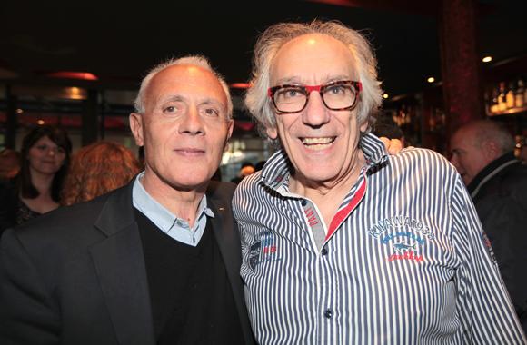 21. Bernard Collini (BCC) et Albert (Café du Pond)