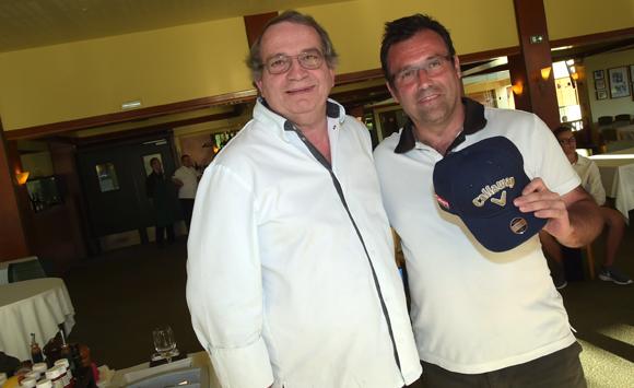 23. Le chef Gilbert Reboul (Golf Villette d'Anton) et Renaud Blondeau (BMA)