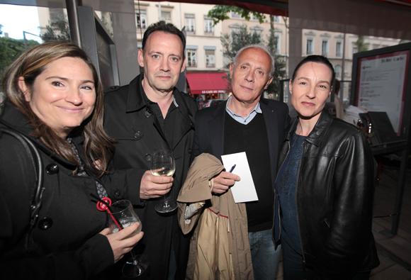24. Stéphanie et Fernand Cabeza, Bernard Collini (BCC) et Hélène Nallet
