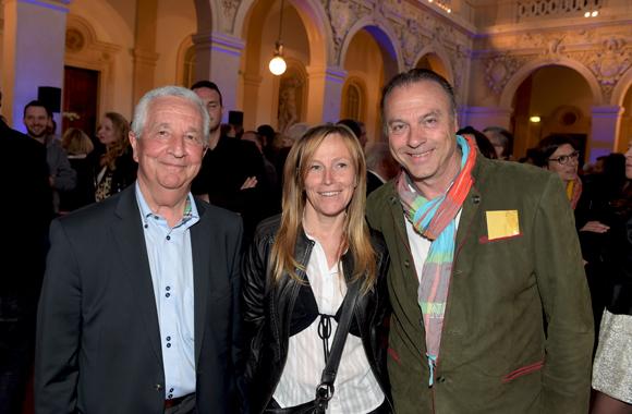 28. Bernard Olmer, Ghislaine Trilliat et Olivier Lallemant (Groupe New-Im)