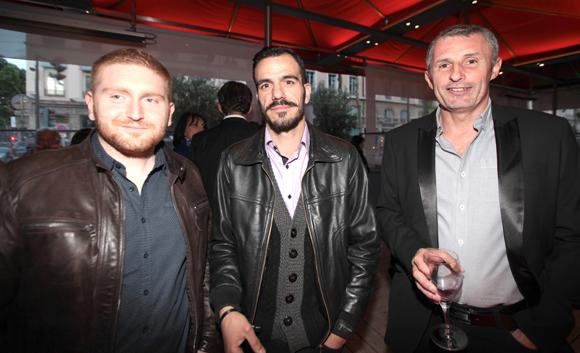 29. Alexandre Ganser et Aurélien Chaniot (FG Manufacture), Bruno Vincent (Comptoir 77)