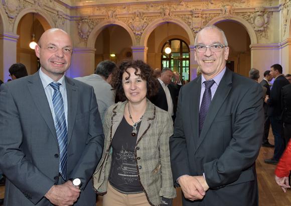 3. Jean-Pierre Janin, Christine Velon et Denis Renaud (Banque Populaire)