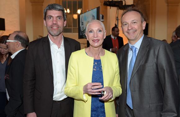 30. Marc Geoffray (Aporh), Françoise Garcia (TGL Group-Floriot) et Laurent Galbes (LG Events)