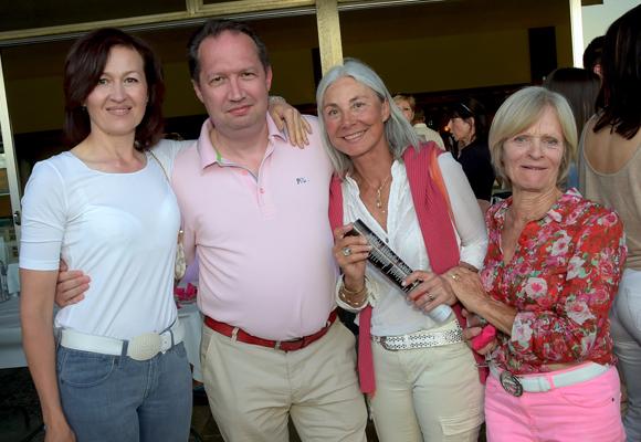 32. Didier Dalod (Piman Consultants), son épouse Elena (Bir international), le docteur Christiane Lalain et Marie-Claude Bonne