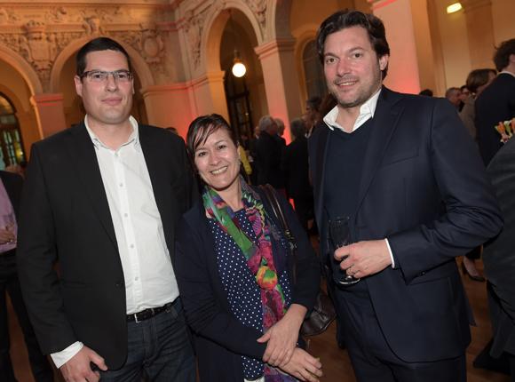 33. Rémi Pral (HTC), Corinne Mandrilloni (Artefact) et Simon Gerbaud (Monument.fr)