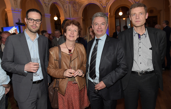 37. Bertrand Mie, Catherine Pigeon (Aragor), Denis Gardette (Puzzle) et Hubert Raccurt (TGR Group)