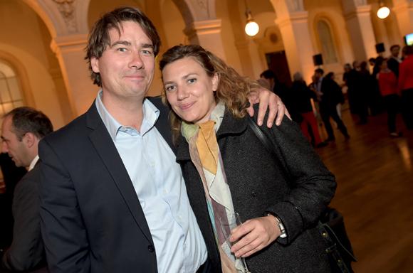 40. Damien Bodoy (Lazard) et Sarah Fraipont (Promoval)