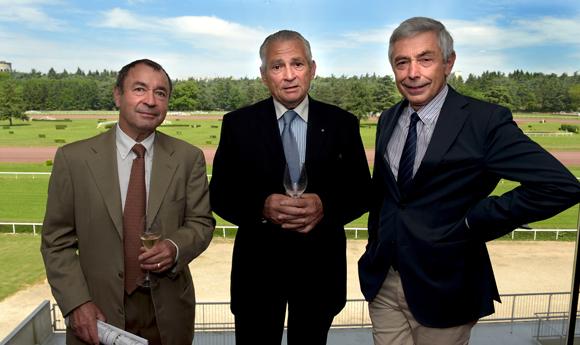 4. Maitre Michel Duquaire, Alec Palmer et François Boulard (France Galop)