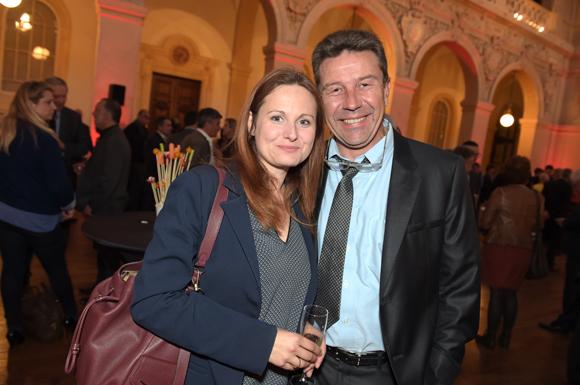 44. Olivier Cerutti (Cerutti Consultant) et son épouse Lydia (Floriot)