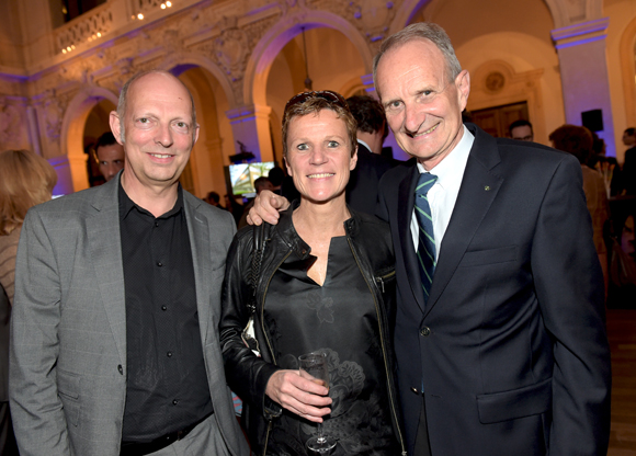 45. Patrick Leroy (Sud architecte), Maitre Nathalie Lardet-Fleurier et Hervé de Saint Laumer (HSL diffusion)