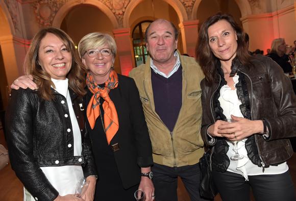 47. Maitre Corinne Menichelli-Glories (BDMV Avocats), Béatrice Garnaud (Espace immobilier Lyonnais), Franck Honegger (CR2I) et maitre Anne-Claire Joobeldon (Joubeldon Faysse)
