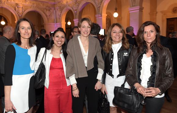 48. Maitres Karine Margerit, Nawel Ferhat, Céline Flotard, Corinne Menichelli-Glories et Anne-Claire Joobeldon
