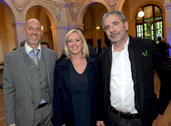5. Guy Kleinheny, Anne Przyzycki (Barclays) et Pierre-Jean Perrin (Puzzle)