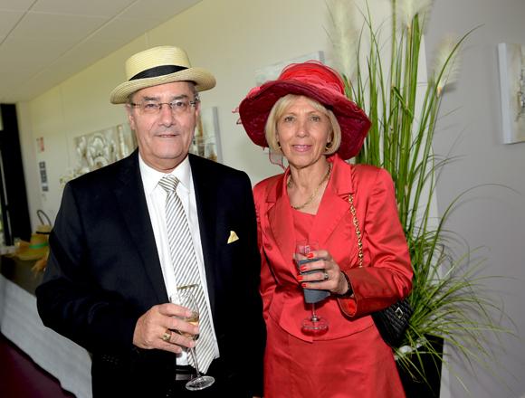 5. Le docteur Christian Desvignes et Marie-Claude Palmer