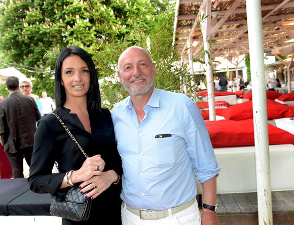 6. Karine Fontaine (Floriot immobilier prestige) et l'horloger Jean-Louis Maier