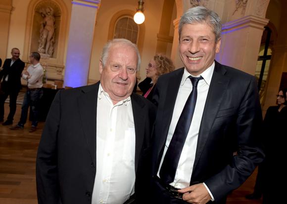 7. Charles Valente (Valente) et Thierry Glories, président de TGL Group-Floriot