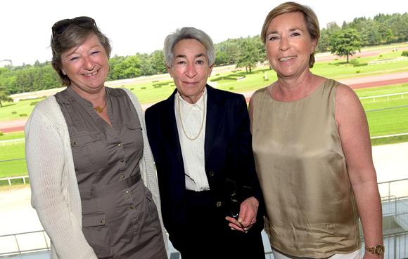 7. Corinne Hermann, Pierrette Gindre et Claudie Ravier (Société des Courses de Lyon)