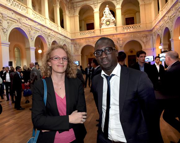 8. Ophélie Besson (Banque de France) et Malick Ndiaye (Bouygues Immobilier)