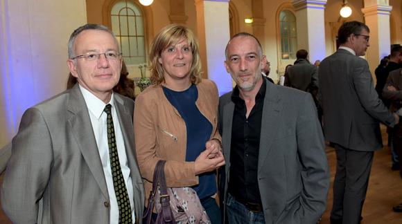 9. Ludovic Chapelle (Yaka Immo), Vinciane d'Hollander (Cabinet Malsch) et Patrice Louvet (Newi)