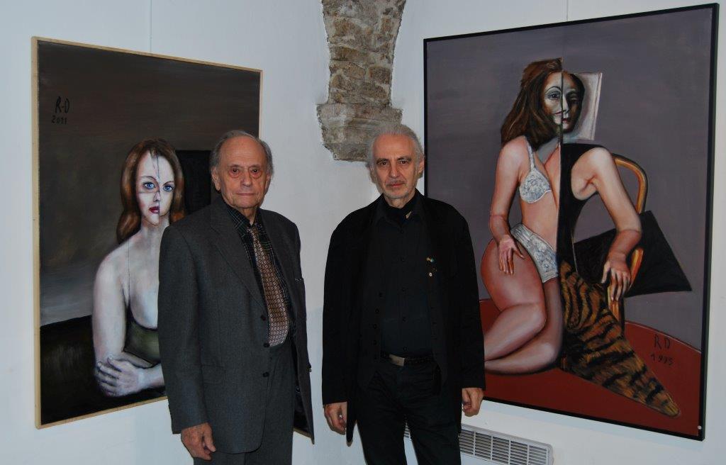 Le peintre Robert Duran est parti seul, comme il l'avait planifié…