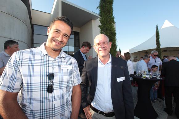 10. Ahmed Zeggaf et Mathieu Boisard (Gravotech)