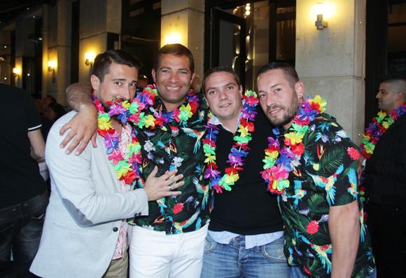 10. Fabrice (Enco), Steeve Chevassus (Doosan France), Xav (Nasarre) et Tony Gonçalves (Distriflex)