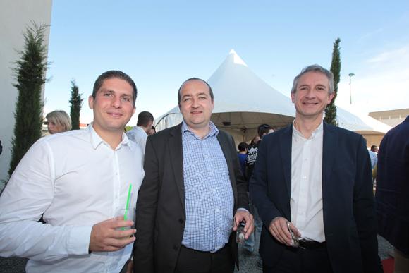11. Cédric Loprete, Damien Giroud et Laurent Garcia (Schneider Electric)