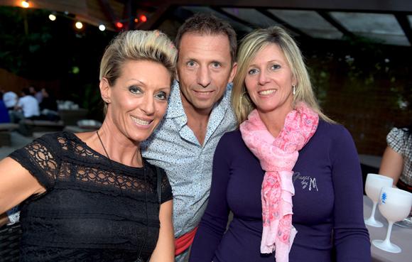 11. Nathalie Bella, Thierry Odwrot (EDF) et son épouse Sandrine
