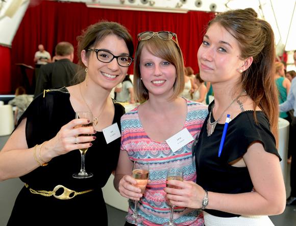 12. Marlène Carmona (B.B.B), Blandine Tornior (Gipsa) et Gwendoline Jeantet (B.B.B)