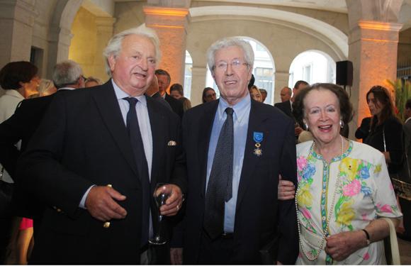 12. Jean-Claude de Poncins, André Soulier et Simone André