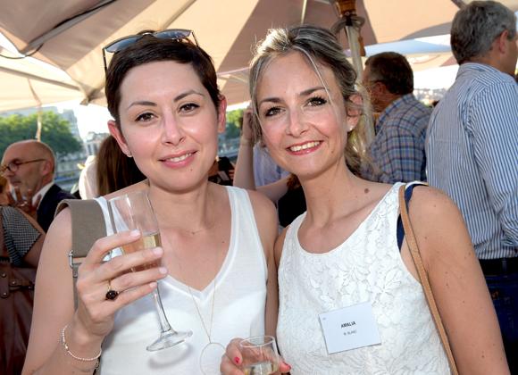 1. Gaëlle Caillens-Musitelli (Alliade) et Carine Blanc (Amalia)