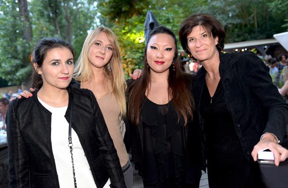 13. Caroline, Coraline, Stéphanie et Thiphaine