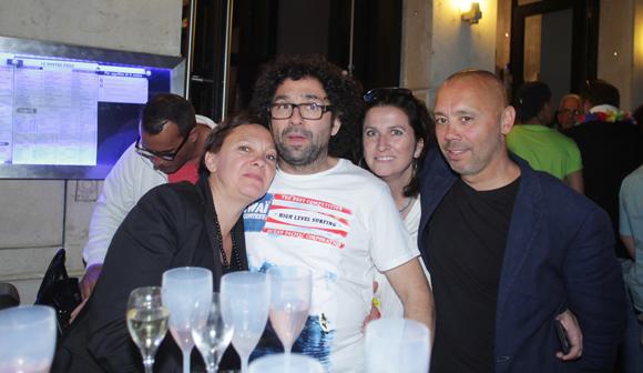 13. Agnès Cordier, Thierry et Christine di Litta (Ness) et Denis Gondcaille (Murgier)