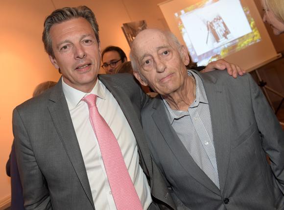 13. Pascal Blache, maire du 6ème et Mario Gurrieri