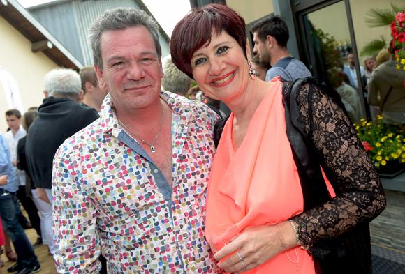 13. Christophe Bardet (Auberge de la tiour) et son amie Cathy Sadin (Un temps pour elles)