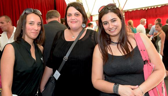 13. Julie Kowarski, Elodie Brun-Baronnat et Sophie Asensio (SBBRT)