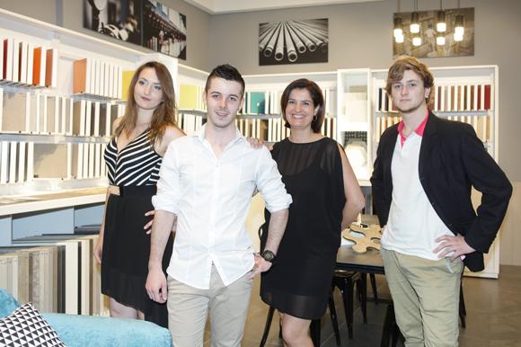 1. Mylène, Clotaire, Dina et Corentin (Décoceram)
