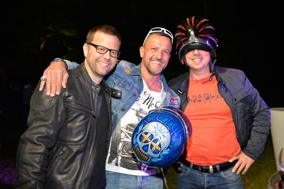 14. Lionel Dejob (Fenwick), Franck Schillbach (Eurofroid) et Didier Dejob (Créa Panneaux)