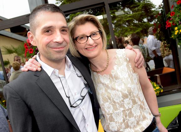 15. Eric Lepine et son épouse Isabelle (Hôtel-Restaurant Emile Job)