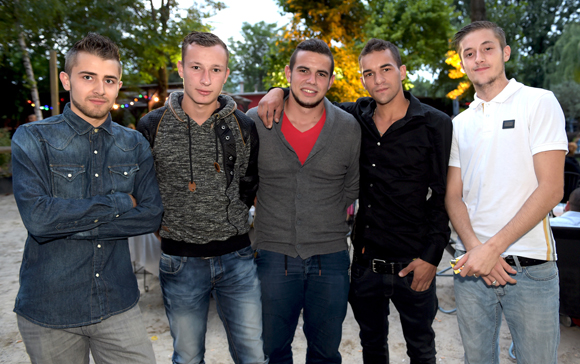 16. Maxime, Baptiste, Maxime, Etienne et Bastien